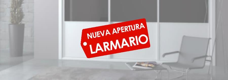 Nueva apertura de Larmario en Sevilla