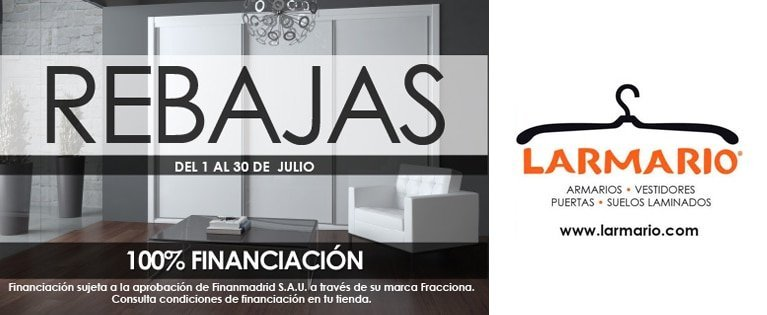 At Larmario we are on sale!