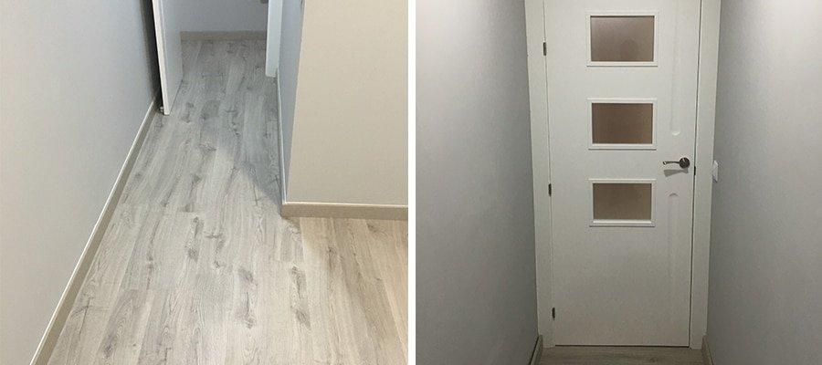 ¿Cómo combinar el suelo y las puertas?