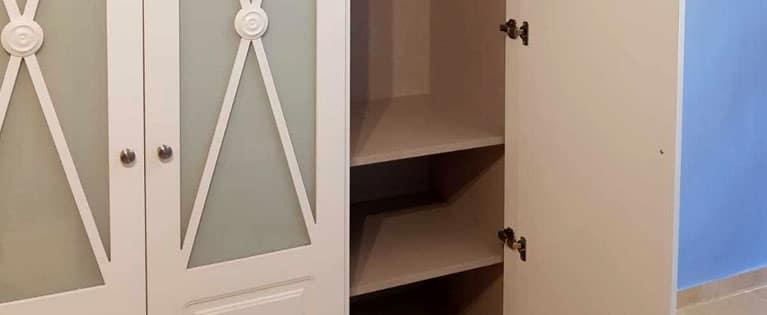 Así quedo este armario de puertas abatibles de palillería