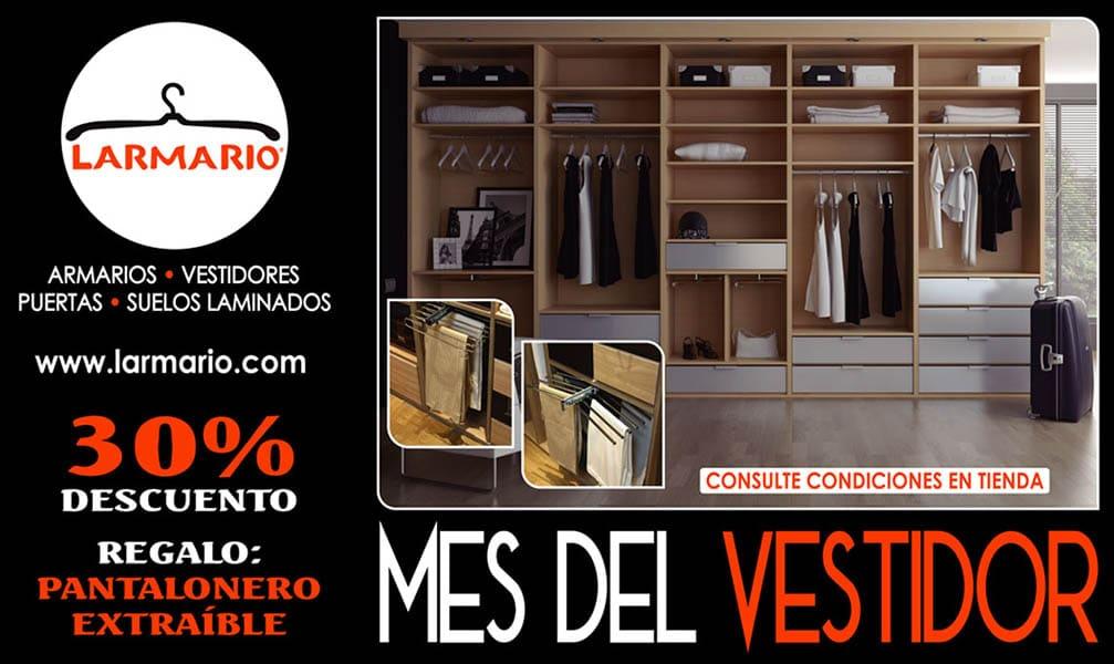 Promoción septiembre 2019: El mes del vestidor en Larmario