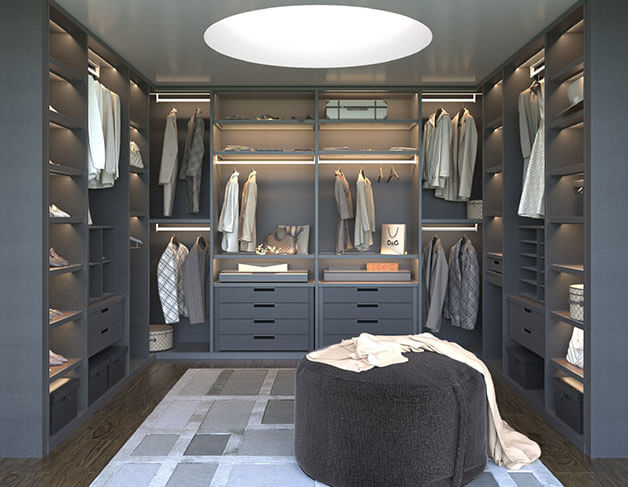 Dressing rooms | Larmario